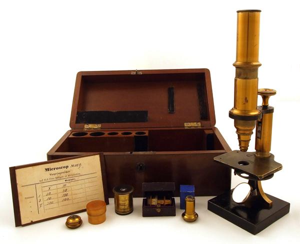 Museum optischer instrumente mikroskop stativ a von e leitz in