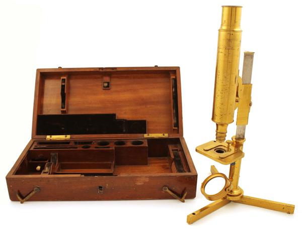 Museum optischer instrumente kleines schiek stangen mikroskop