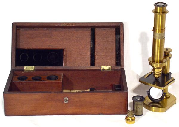 Museum optischer instrumente kleines mikroskop franz schmidt