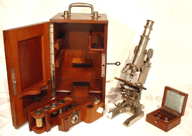 Museum optischer instrumente: labormikroskop rudolf winkel