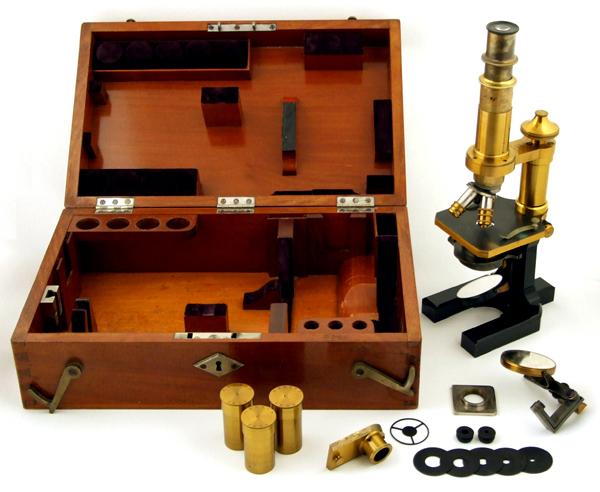 Museum optischer instrumente: zeiss mikroskop stativ va